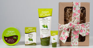 dalan d'Olive Body Butter, Cream and Soap Gift box