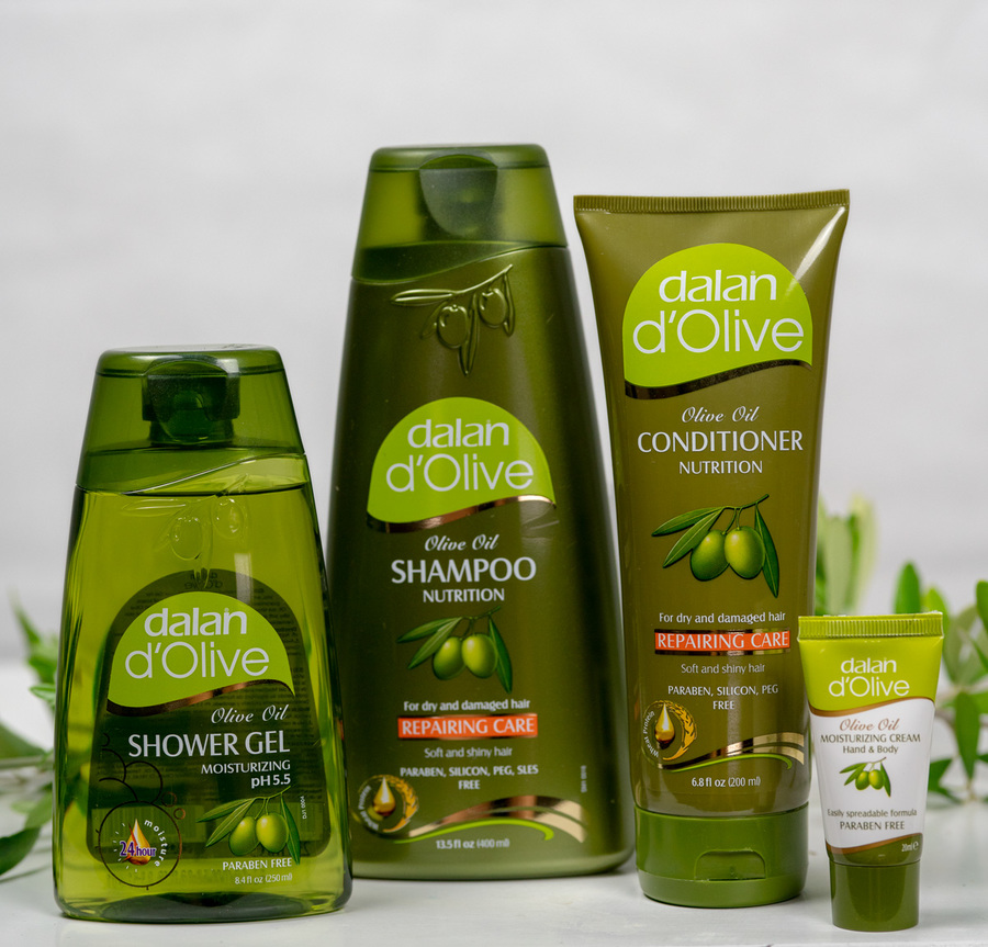dalan d'Olive Hair & Body Gift Pack