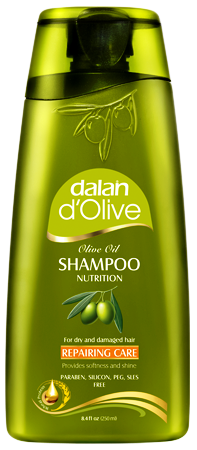 D'Olive Repairing Care Olive Oil Shampoo 400ml